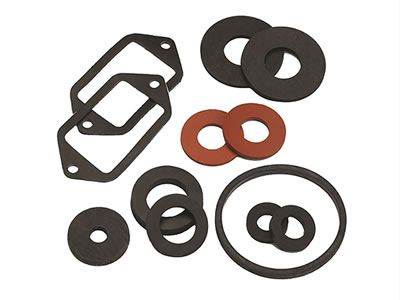 There are several kinds of rubber gaskets with different shapes.